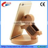 Mobile Phone Wood Stand Holder For iPhone Cute Horse Unique
