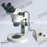 XTL - 171 series Stereo Zoom binocular Microscope total magnification 0.63X-45X zoom bojectives 0.63X-4.5X