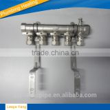 Underfloor heating brass manifold/5 ways Systems Brass Manifold/water manifold/2 way manifold/3 way manifold/brass fittings