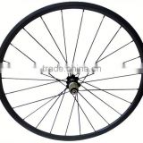 High quality 700c road bicyle for clincher or tubular carbon wheelset carbon mtb rim