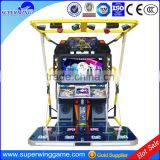 superwing 55 inch King of dancer 2 coin operated simulator music arcade video dancing game machine in high quality