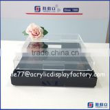 Alibaba gold supplier clear acrylic serving trays wholesale & whte / clear acrylic tray