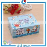 Cartoon printing promotion soft paper tissue packs