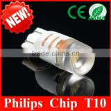 Wholesale Price W5W T10 LED Super Bright License/Side/Interior Light 194 168 E5W T10 LED