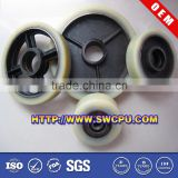 Different belt conveyor drum idler drive pulley with ball bearing
