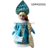 Wholesale porcelain dolls 12inches lifelike girls