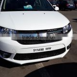auto body parts front bumper for dacia logan 2013