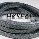SS wire/nickel/inconel/copper wire reinforced graphite packing