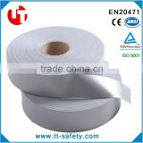 China En471 class 2 liver grey heat press reflective tape heat transfer reflective tape for safety clothing