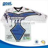 Alibaba china youth high quality blank motocross jersey