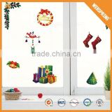 2015 New design fashion anti-water 3d stickers for windows christmas