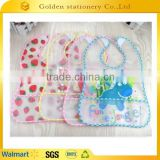 Ecofriendly PVC Waterproof baby soft bibs                                                                         Quality Choice