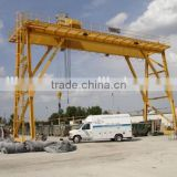 Double beam boat lifting gantry crane