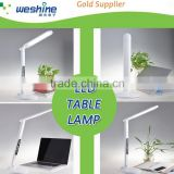 factory supply LED besides table lamp with clock calendar temperature usb port