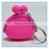 little girls gift silicone chinese purse for coins