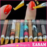Self Adhesive Resin Rhinestones Dotting Pencil Nail Art Gem Crystal Pick Up Tool Wax Pen Long                                                                         Quality Choice