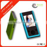 Ultra Slim Digital 1.8'' 8GB MP4 Player manual with FM Radio Music E-book Video out Player