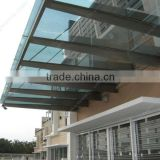 Stainless Steel Glass Awning Canopy YG-C34                                                                         Quality Choice