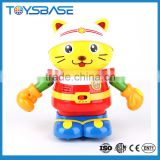 Best selling plastic intelligent battery operated toy cat