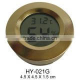 Digital Round accurate humidor cigar hygrometer ,cigar humidor accessories,round hygrometer