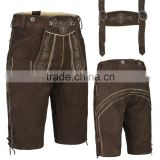 Bundhosen lederhosen,Oktoberfest trachten ,Kurze lederhose,german hose,leather pants,shorts