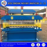 High Quality Steel Glazed tile and wall tile double layer roll forming manufacturing machine