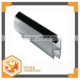PVC magnetic glass shower door seal strip weather stip rubber sealing strip,water proof with magnetic