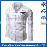 2016 Wholesale Fashion Check Shirts for Men dress shirt design hawaiian shirts wholesale