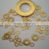Flat washer material brass