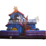 Inflatable haunted house spook house bouce, Halloween theme