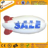 inflatable airship helium balloon inflatable blimp inflatable sky balloon with printing F2047