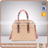5127 - 2016 bueno designer private label exotic eco faux leather lady handbag