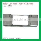 #000708 toyota hiace spare parts hiace rear license frame chrome rear license frame for hiace 2011
