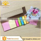 wenzhou cangnan paper bookmark combined sticky notes memo pad with color paper