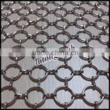 China Manufacturers Metal Chains for Decoration Aluminum chain curtains Stainless steel ring metal mesh Low Price Hot Sale