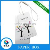 New arrival Clothing Paper garment tag,clothing hang tag design,Custom jeans Paper Hang tag&name tag manufacture