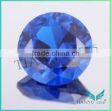 Wholesale 112# color synthetic gemstone round lab diamonds spinel for jewelry wax casting