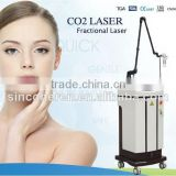 Co2 Fractional Laser Beauty Machine RF Tube For 0.1-2.6mm Remove Surgical Scars Actinic Keratoses Acne Scars Skin Regeneration
