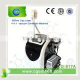 CG-817A weight loss clinics / ultrasound machine for home / laser liposuction surgery
