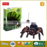 Zhorya RC spider toy with realistic motion and lighting