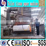 Good performance 3000mm automatic toilet tissue roll paper recycling machine sanitary production line