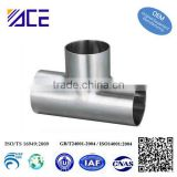 stainless steel welding Tee pipe fittings