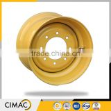 CNAS vertified factory supply high precision high flotation tires and rims