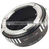cnc machining aluminum lens mount adapter for camera lens