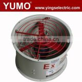 YUMO CBF (BAF) series 220V 380V explosion proof low noise round large industrical axial fan