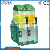 Commercial slush juice machine with 2 tanks