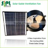 SUNNY FAN SN2015004 Kitchen Wall Mounted 30W 14'' Solar Air Exhaust Fan