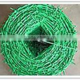 hot sale and high quality PVC coated barbed wire / galvanized razor barbed wire