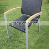 Plastic Rattan Arm Chair Furniture