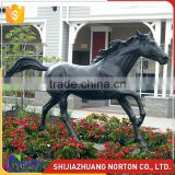 Black bronze horse statue for sale NTBH-040LI